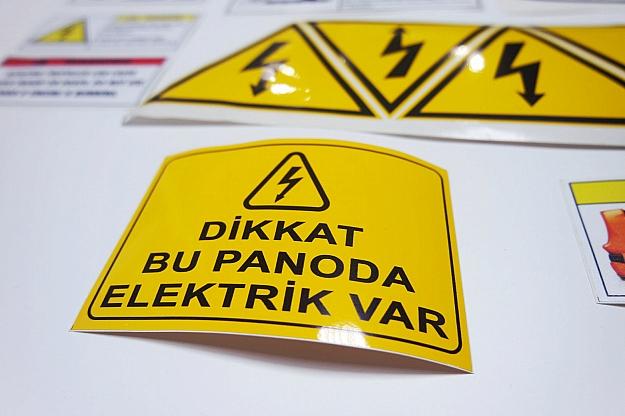 Pvc Cıkartma Etiket